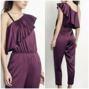 ALY & JAY JUMPSUIT ONE SHOULDER  SIZE S